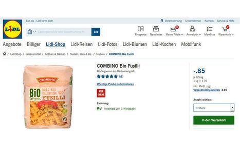 Lidl Allemagne va déployer le click&collect pour les produits frais | STORE & DIGITAL | Scoop.it