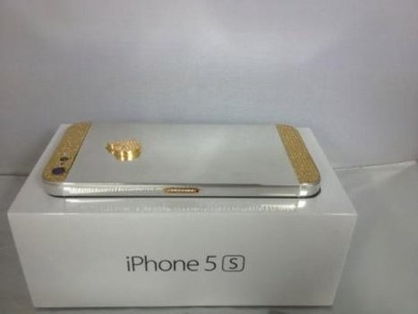SERIOUS BUYER INBOX ME , IPhone 5S Gold Whatsapp chat : +234 | www.elwessit.com | Scoop.it