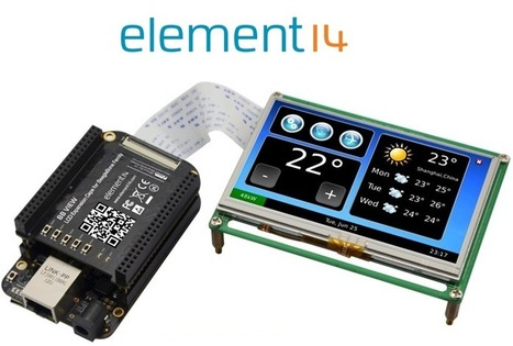 Element14 now offers 7 and 4-inch LCD screens for Beagle Bone boards - | Raspberry Pi | Scoop.it
