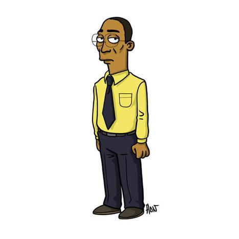 Les personnages de la série Breaking Bad en style Simpsons. | BRAIN SHOPPING • CULTURE, CINÉMA, PUB, WEB, ART, BUZZ, INSOLITE, GEEK • | Scoop.it