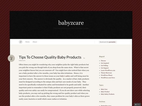 Tips To Choose Quality Baby Products | baby products | Scoop.it