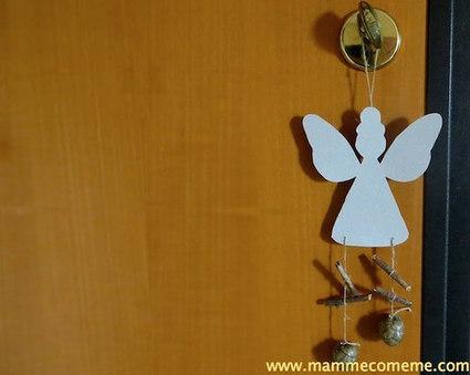 Mamme come me: Natale: angelo decorativo | Lavoretti | Scoop.it