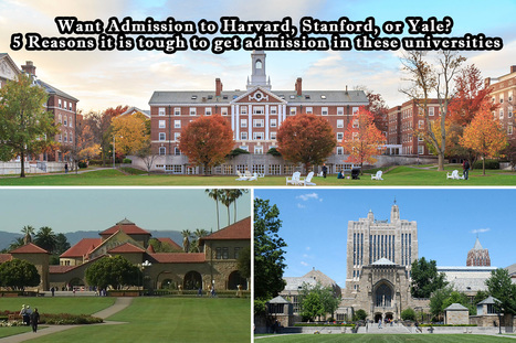 Want Admission to Harvard, Stanford, or Yale? 5 Reasons it is tough to get admission in these universities. | Content Creativity | Perfect Writer UK | Scoop.it