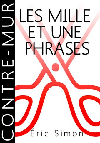 LES MILLE ET UNE PHRASES de Éric Simon, quatrième livre numérique publié par Contre-mur. | Poésie Elémentaire | Scoop.it