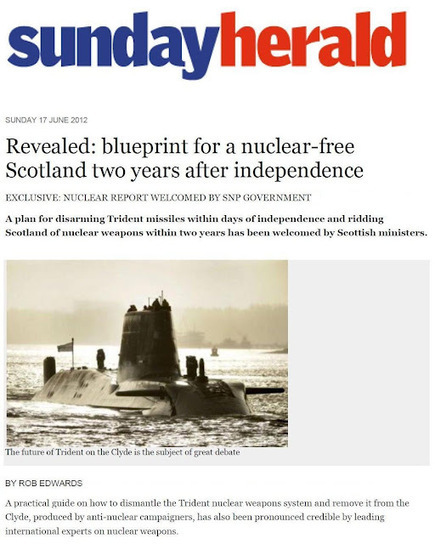 Frankly: No Nukes | YES for an Independent Scotland | Scoop.it