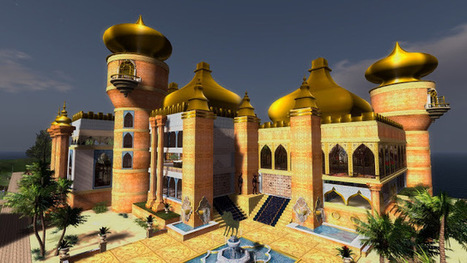 Impressionen vom Castle, Home and Garden Contest 2016 - second Life - Echt Virtuell | Second Life Destinations | Scoop.it