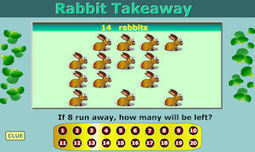 Rabbit Takeaway - the game that helps you learn how to subtract (take away) | Year 1 and 2 | Scoop.it