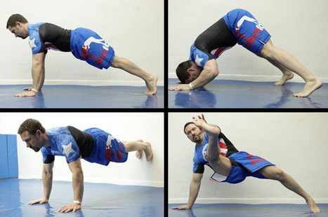 10 Pushup Variations for a Stronger Body Slideshow | Food & Body Revolution | Scoop.it