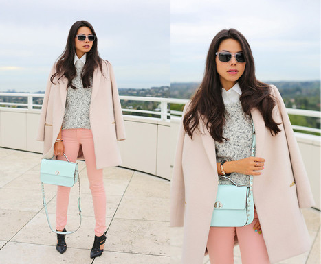cocorosa: Top 10 Fashion Blogger Pastel Winter Coats | Fashion Inspiration | Scoop.it