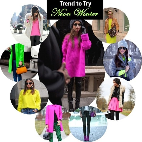 Winter Neon | Style at a Steal | Winter Trends Designer Clothes | Scoop.it