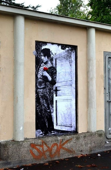 The Mischievous Street Art of Levalet | Culture and Fun - Art | Scoop.it