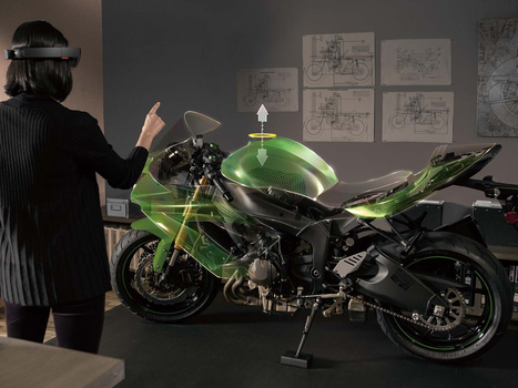 Project HoloLens: Our Exclusive Hands-On With Microsoft's Holographic Goggles | WIRED | Peer2Politics | Scoop.it