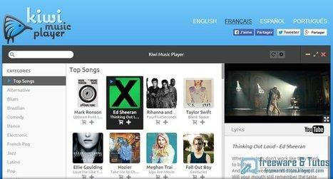 Kiwi Music Player : un logiciel gratuit pour écouter ses musiques préférées en ligne | Time to Learn | Scoop.it
