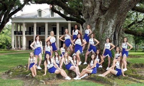 Tarpon Cheerleaders Visit Oak Alley! | Oak Alley Plantation: Things to see! | Scoop.it