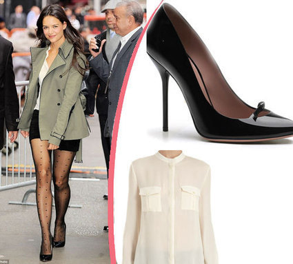 Katie Holmes wore her own design,  Holmes & Yang creation | myproffs Entertainment | Scoop.it
