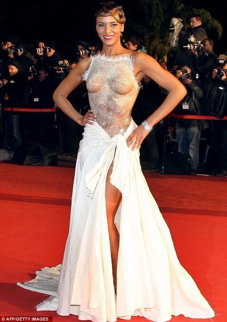 NOT SO SHY! Shy'm Arrives In Cannes to NRJ Awards Wearing COMPLETELY Transparent Corset? BAD BIEBER ALERT | TonyPotts | Scoop.it