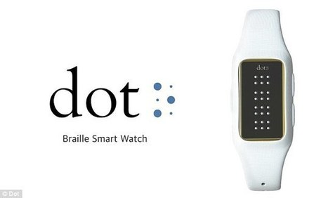 New Braille Smartwatch can Read e-books and Texts | Ebook and Publishing | Scoop.it