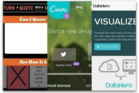 6 free visual marketing tools | marketing and content creation | Scoop.it