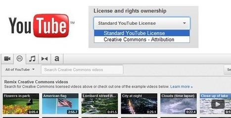 Derechos de autor, licencias standard y Creative Commons en Youtube | Derechos e Autor | Scoop.it