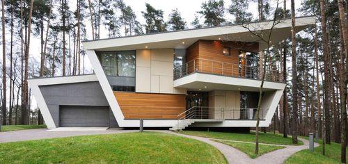 Contemporary gorki house pr s de moscou par atrium - Maisons mitoyennes architecture contemporaine friedrich ...