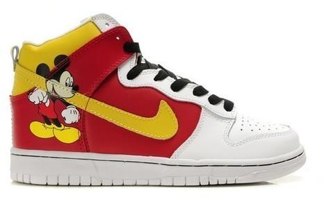 Nike Dunk Mickey Mouse Sneakers Red Yellow White [disney-shoes-1004] - $81.00 : DC Comic Dunks ,Marvel Comic Dunks, Superhero Nike Dunks Shoes ,Superman ,Batman ,Spiderman,Captain America Nikes | Mickey Mouse Nike Dunks | Scoop.it