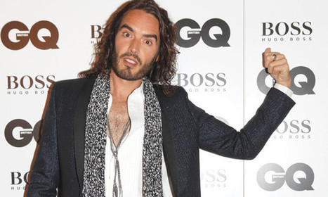 Russell Brand and the GQ awards: 'It's amazing how absurd it seems' | Media | Scoop.it