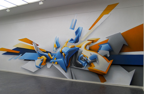 Inspiring and Creative Graffiti Artworks | Contemporary art | Scoop.it