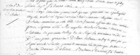 Françoise Jouve, une bien jeune mère - Balades en généalogie | Généalogie | Scoop.it