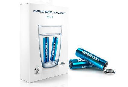 AquaCell, une pile écolo chargeable à l'eau | Connected-Objects.fr | Numerique - Objets connectés - Innovation | Scoop.it