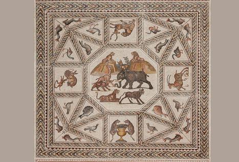 El Mosaico romano de Lod, del siglo III, deslumbra en Miami | Mundo Clásico | Scoop.it