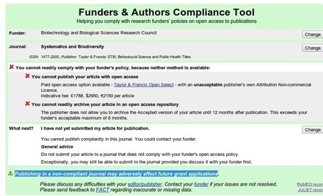 RCUK policy non-compliant journals | Open Access News from the RSP team | Scoop.it