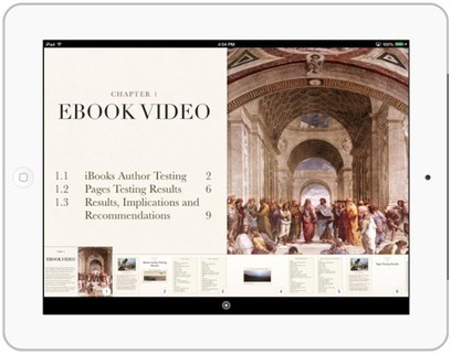 Thinking About Tomorrow: Optimizing iPad Video for iBooks Author and Pages | Edtech PK-12 | Scoop.it