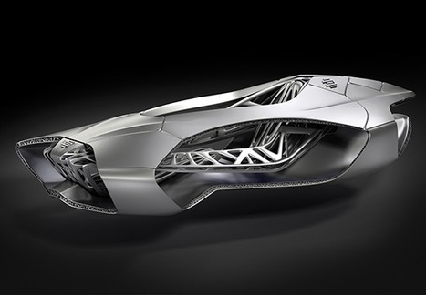 3ders.org - Futuristic EDAG Genesis 3D printed car world premiere at 2014 Geneva motor show | 3D Printer News & 3D Printing News | Smart devices and technology solutions | Scoop.it