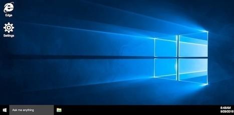Crean una réplica de Windows 10 que funciona en cualquier navegador web moderno | Aprendiendoaenseñar | Scoop.it