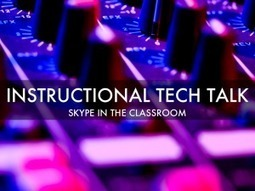 Podcast - Skype in the Classroom - Instructional Tech Talk | Media & Learning | Scoop.it