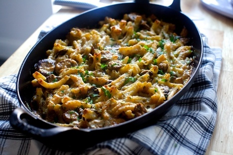 mushroom marsala pasta bake   smitten kitchen   Food for Foodies   Scoop.it