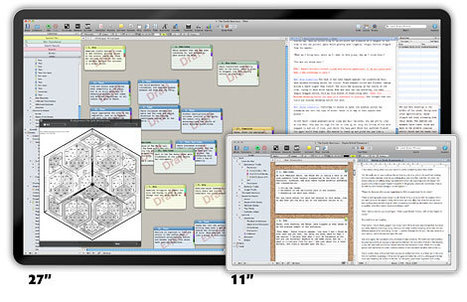 #writing with #scrivener on #mac and (later on) #iPad #ebook export #iBooksAuthor #ibooks #epub | Online Creative Social Mobile Writing, Storytelling | Scoop.it