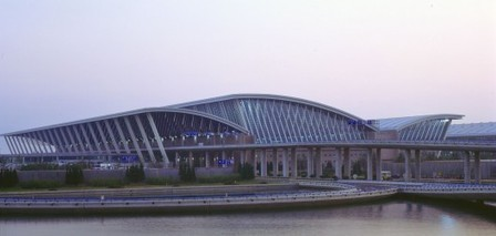 [1999 - Shanghai, China] Pudong International Airport / Paul Andreu Architecte | The Architecture of the City | Scoop.it