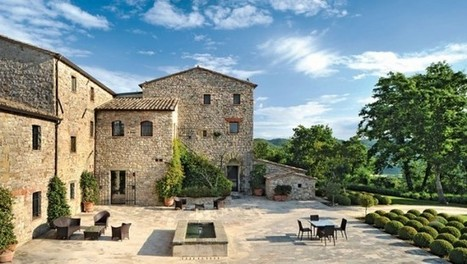 Villa Arrighi, a Luxury Converted Farmhouse in Umbria, Italy | Design Stories | Scoop.it