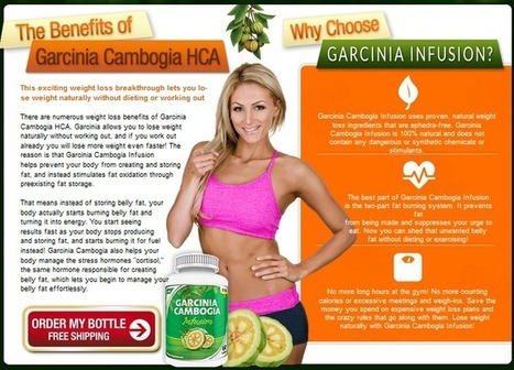 Garcinia Cambogia Infusion Review – Get Risk FREE Trial HERE!!! | Reshape Your Body | Scoop.it