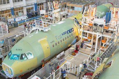 Début de l'assemblage final du premier A320neo - AéroBuzz : Actualité et Information Aéronautique   Aéro   Scoop.it
