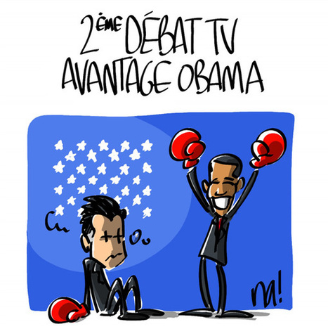 2ème débat TV, avantage Obama | Baie d'humour | Scoop.it