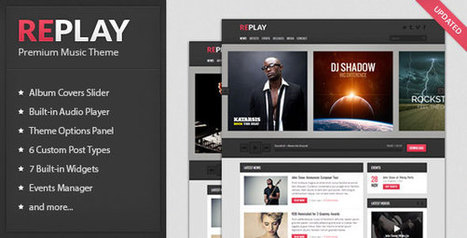 Replay v2.1 - Themeforest Responsive Music WordPress Theme v 2.1 - Get Nulled Scripts | #WORDPRESS THEMES & PLUGINS | Scoop.it