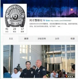 Alhambra PD launches Weibo account, likely first police department in US to do so   Social Media In Law Enforcement   Scoop.it