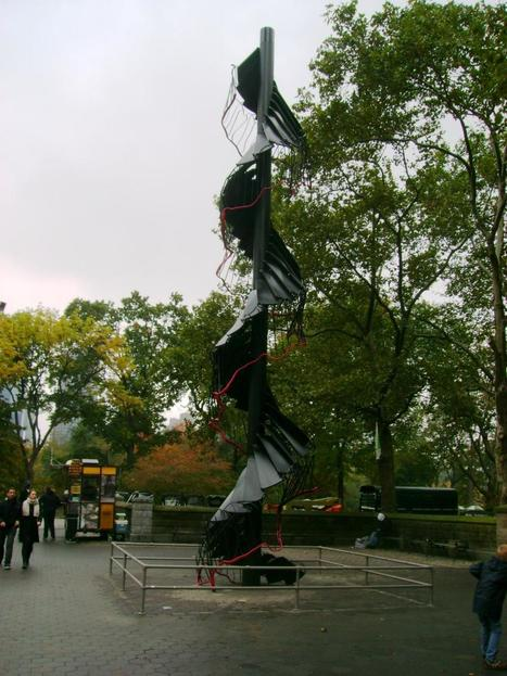 Monika Sosnowska: Fir Tree   Art Installations, Sculpture, Contemporary Art   Scoop.it