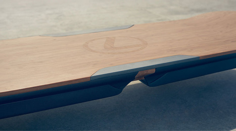 Lexus just unveiled what it calls a real, working hoverboard | Remembering tomorrow | Scoop.it