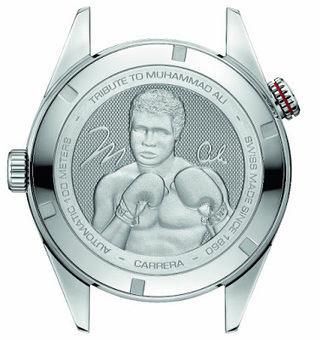 A watch for boxing fans:TAG Heuer Carrera Caliber 5 Ring Master Muhammad Ali Watch Review | Tag heuer watches Replica,fake watches uk | Scoop.it