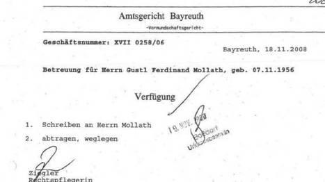 Anwalt stellt sie alle ins Netz - Was verraten die Gutachten über Gustl Mollath? | Gerechtigkeit für die Geschwister May aus Erfurt | Scoop.it