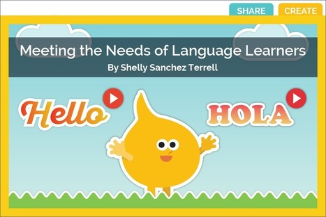 Meeting the Needs of Language Learners | ICT Resources | Scoop.it