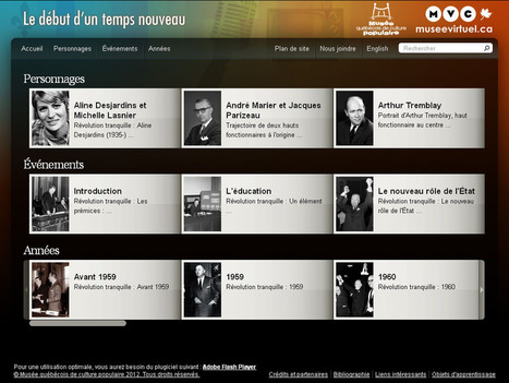 Les tablettes dans les musées canadiens   Cabinet de curiosités numériques   Scoop.it
